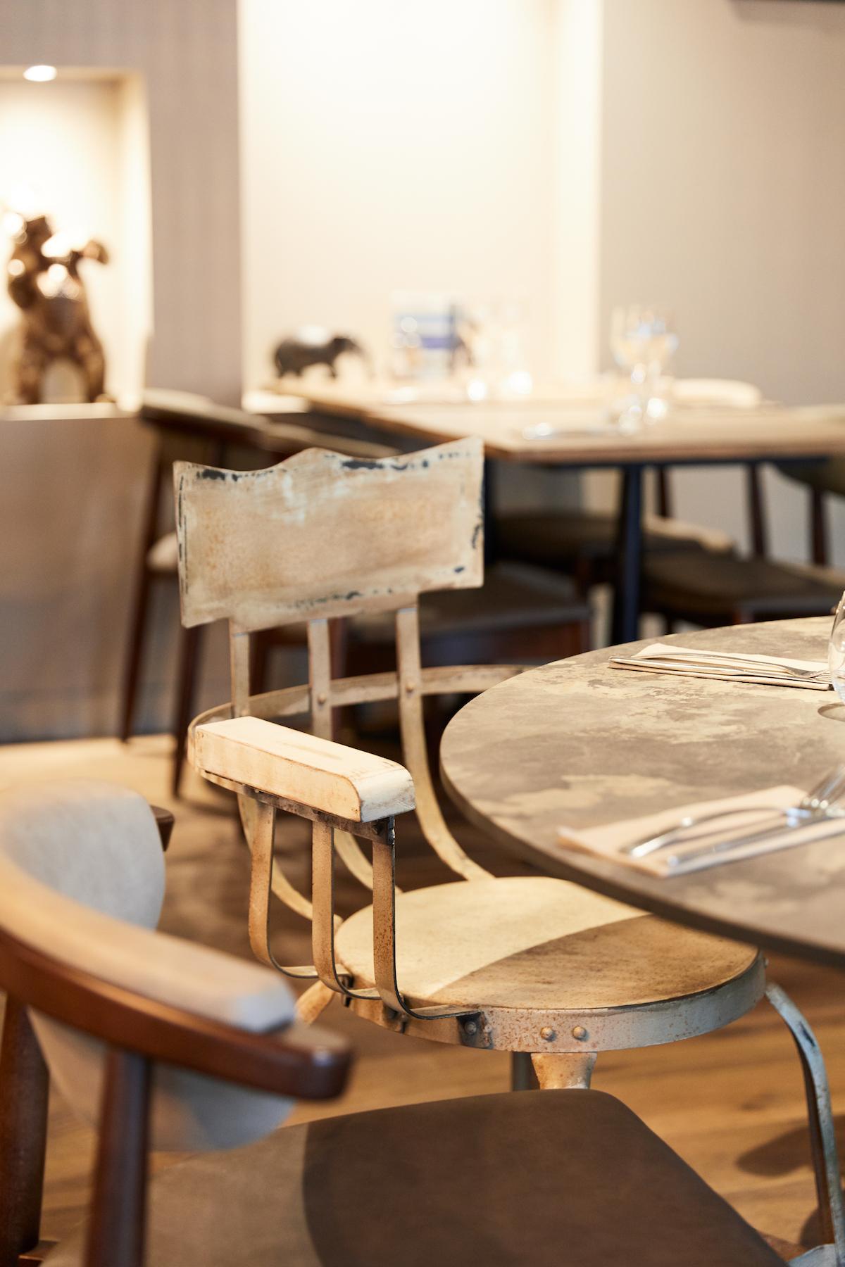 Intérieur restaurant Fouesnant