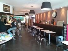Intérieur bar restaurant Fouesnant
