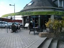 Terrasse restaurant pizzeria Fouesnant