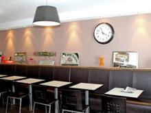 Une salle du restaurant à Fouesnant